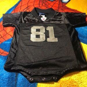 (NFL Hall Of Fame) Tim Brown Raiders Onesie
